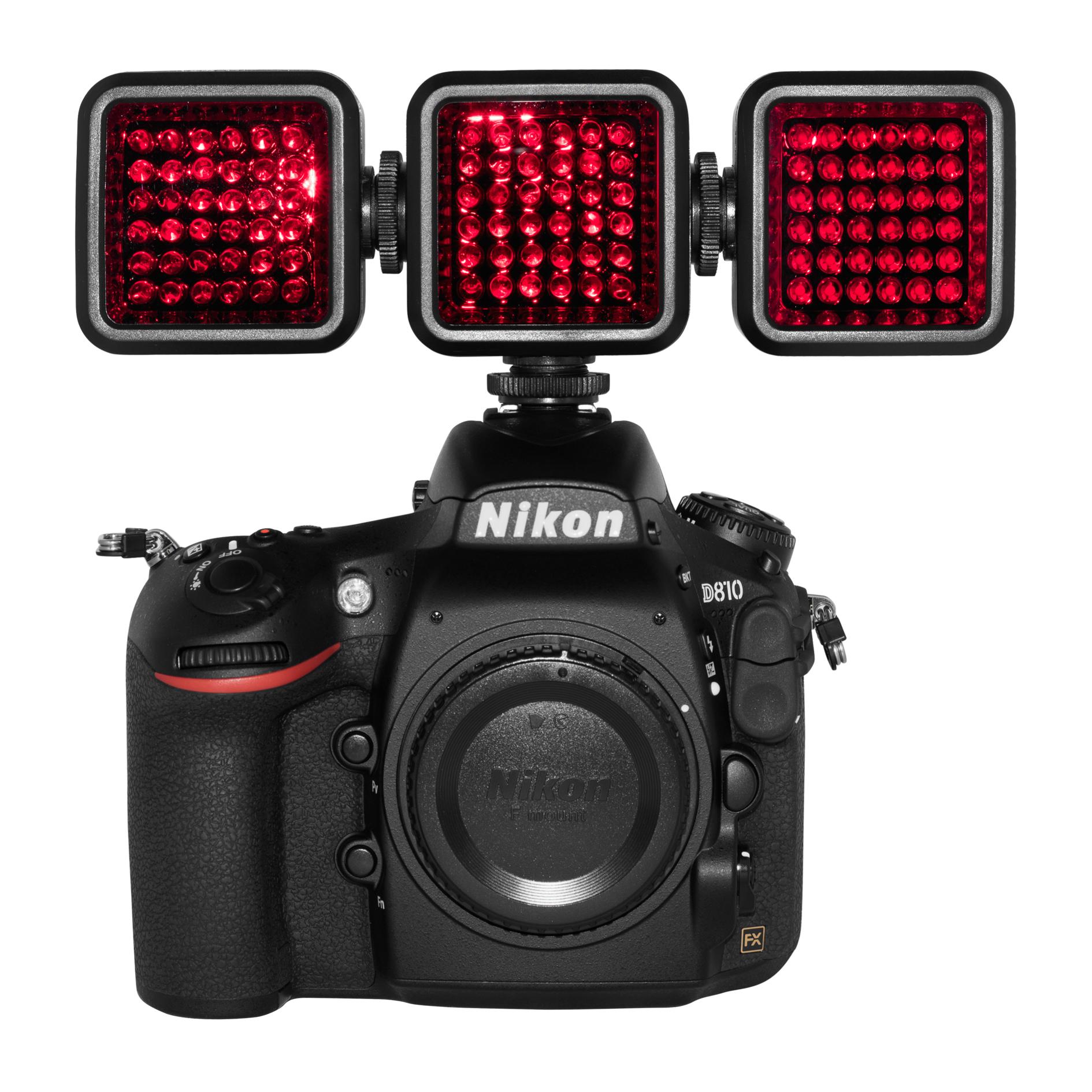 Infra-red illuminator, Infra-red LED, 850nm, 940nm, mini-flood, forensic infra-red, covert surveillance