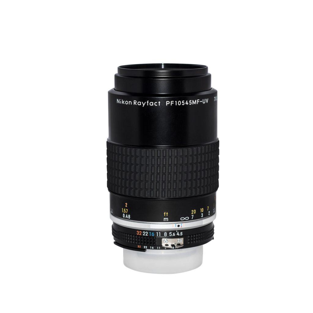 Nikon Rayfact UV Lens, PF10545MF-UV, ultra violet lens, quartz lens